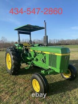 Tractor JOHN DEERE 2840 90HP FREE SHIPPING WITHIN 500 MILES