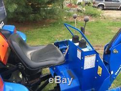 Tractor Loader Backhoe