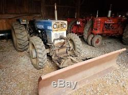 Universal Tractor 640DT-C 4WD 60hp Snow Plow