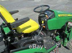 Used 4x4 John Deere 1025R Tractor Loader Backhoe Diesel