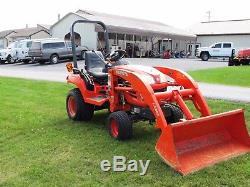 Used Kubota Bx1850 Sub Compact 18hp 4x4 Tractor, Loader 194 Hours Hydrostatic