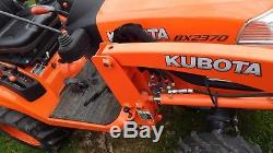 VERY NICE 2016 KUBOTA BX2370 4X4 TRACTOR WithLOADER & MOWER 21 HRS
