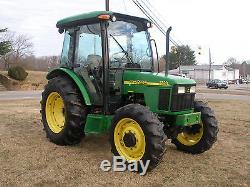 Very Nice John Deere 5320 4 X 4 Cab Tractor