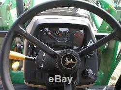 Very Nice John Deere 5525 2wd Cab Loader Tractor Only 1240 Hours