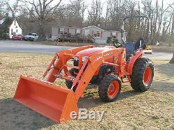 Very Nice Kubota L3200 4x4 Loader Tractor Only 117 Hours