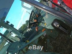 Very Nice Massey Ferguson 1635 4 X 4 Cab Loader Tractor