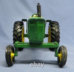 Vintage 1960s Ertl JOHN DEERE 4020 Wide Front Axle Toy Farm Tractor Original Box