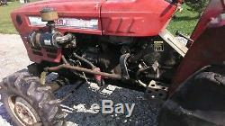 Yanmar 336 336D YM336 YM336D 4x4 Diesel Farm Tractor Power Steer True Barn Find
