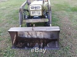 Yanmar YM155 tractor loader 4x4 15 hp diesel gear used compact Mitsubishi